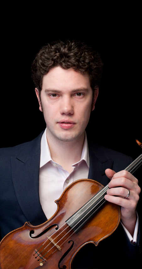 john vaida violin player with the icopr