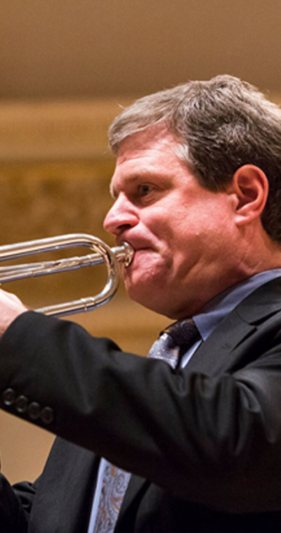martin hodel trumpet player for the icopr