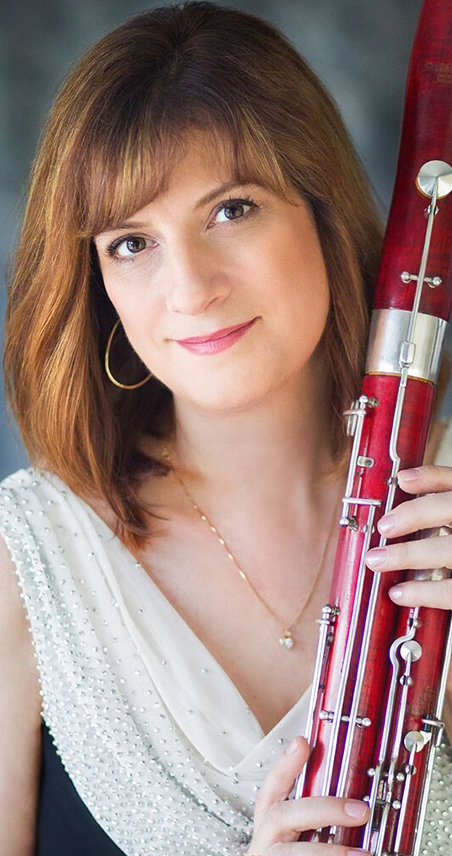 kathleen mclean bassoon player with the icopr