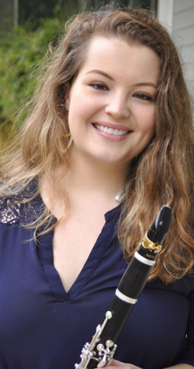 elena murphy clarinet player with the icopr