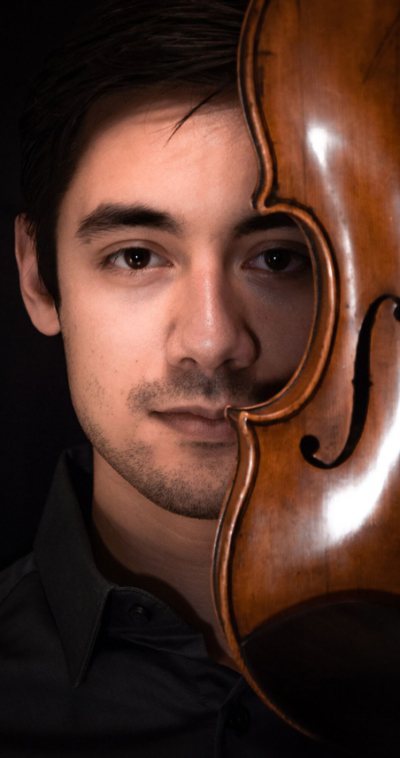 nathaniel shapiro violin player with the icopr
