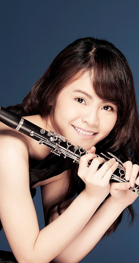 yu-rou li clarinet player with the icopr