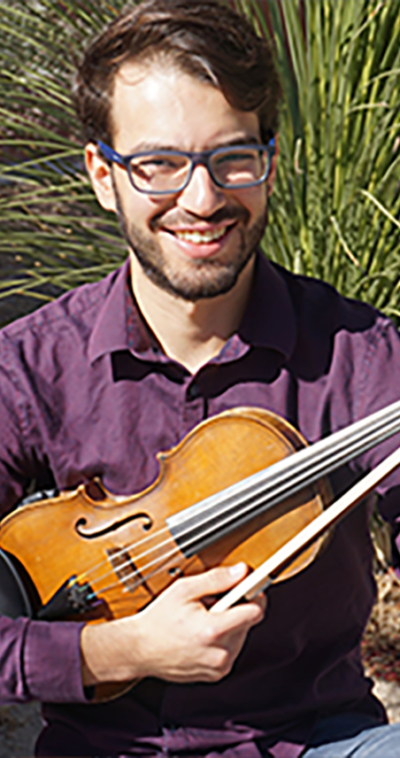 lucas martins violin player for the icopr