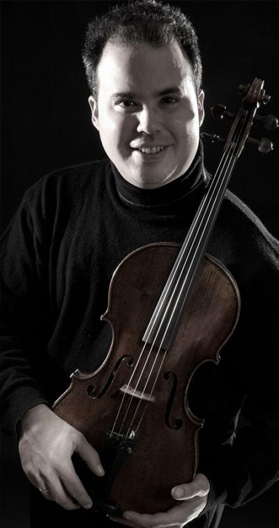 nestor pou violin player for the icopr