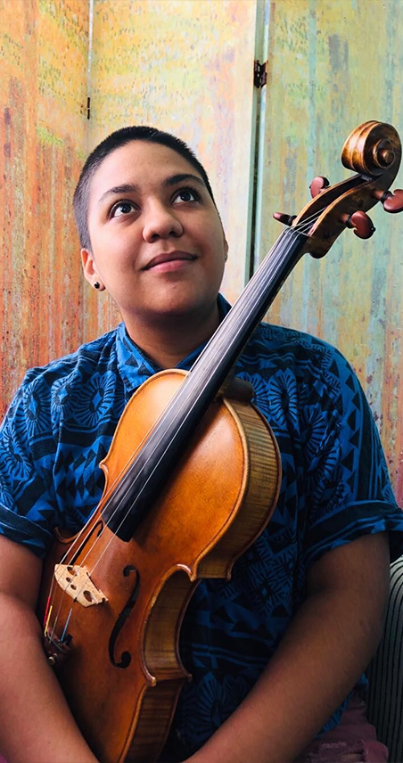 rosa ortega viola player for the icopr